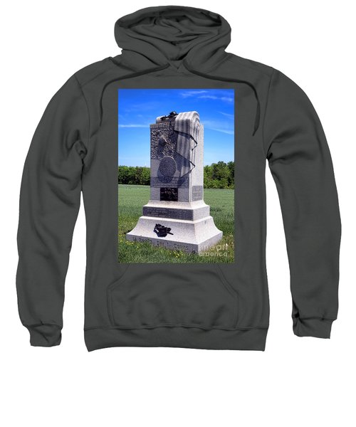 Gettysburg National Park 121st Pennsylvania Infantry Memorial  Sweatshirt
