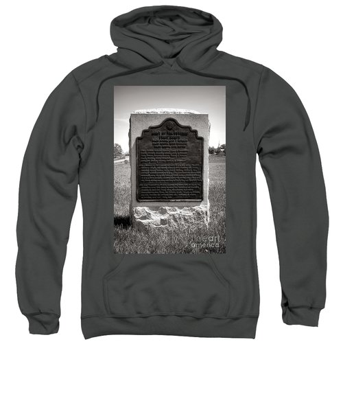 Gettysburg National Park Army Of The Potomac First Corps Monument Sweatshirt
