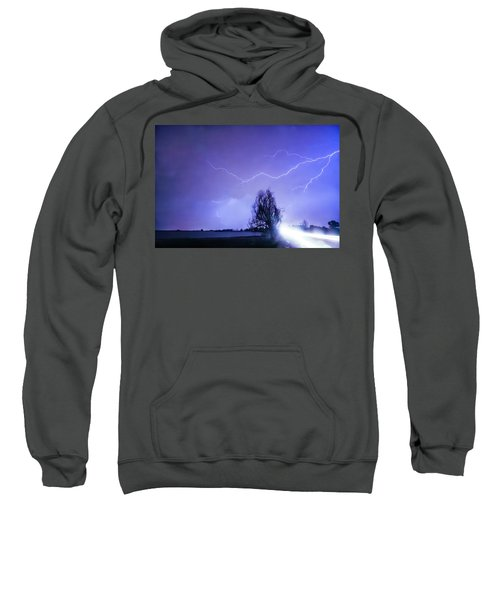 Sweatshirt featuring the photograph Ghost Rider by James BO Insogna