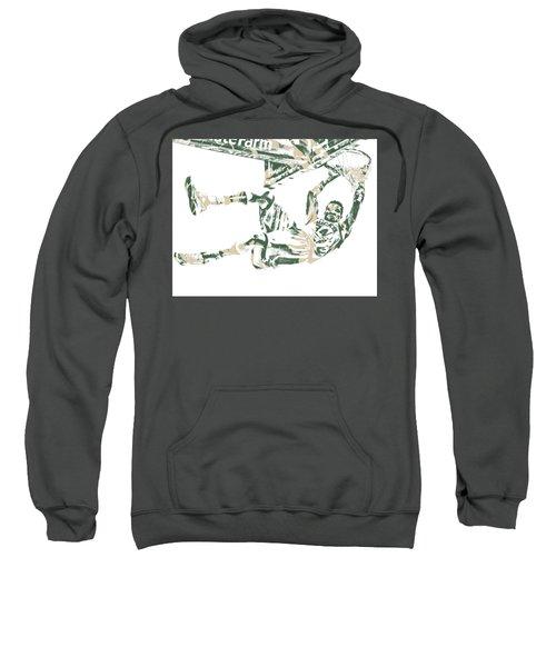 Giannis Antetokounmpo Milwaukee Bucks Pixel Art 20 Sweatshirt