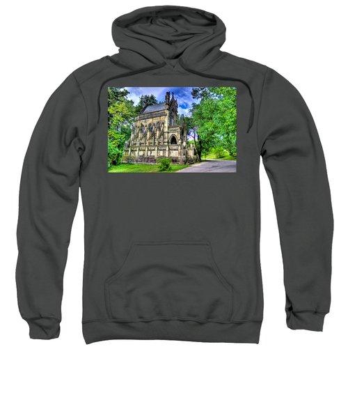 Giant Spring Grove Mausoleum Sweatshirt by Jonny D