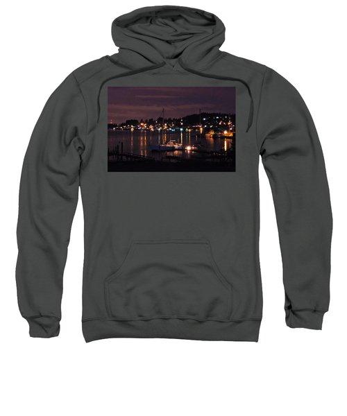 Gig Harbor At Night Sweatshirt