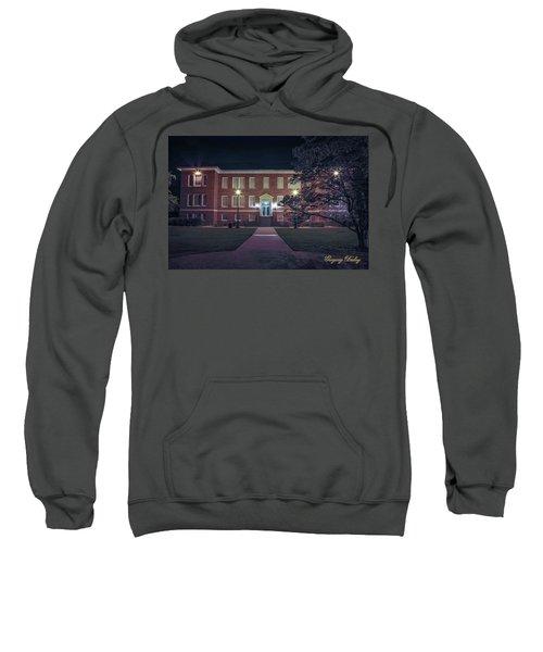 Girard Hall At Night Sweatshirt