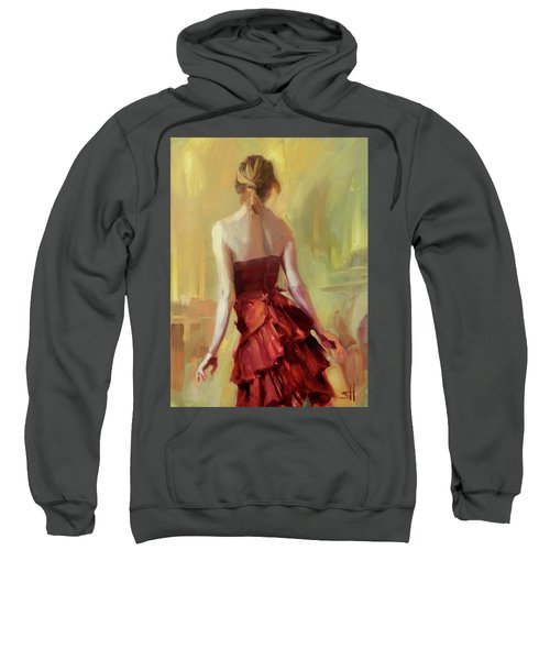 Girl In A Copper Dress I Sweatshirt