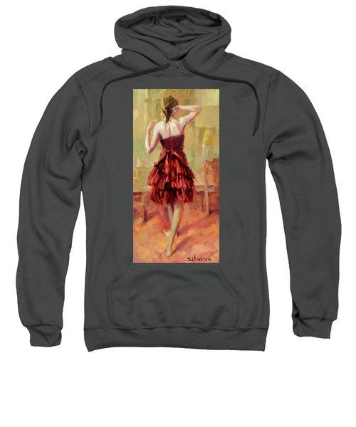Girl In A Copper Dress IIi Sweatshirt