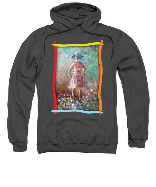 Girl In The Garden Sweatshirt