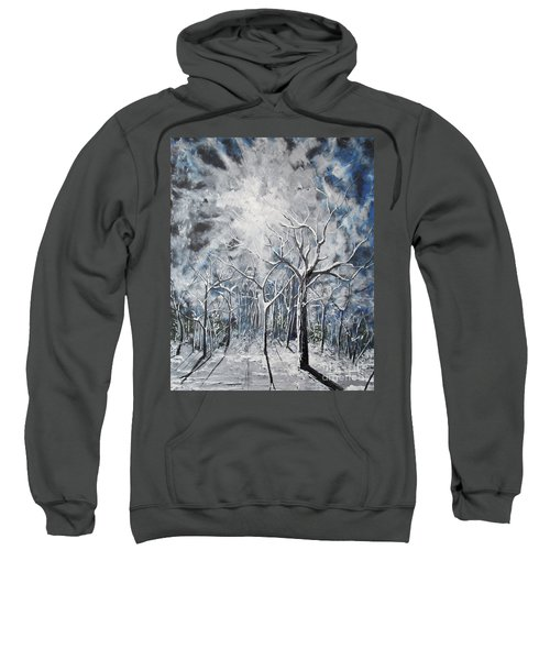 Girl In The Woods Sweatshirt