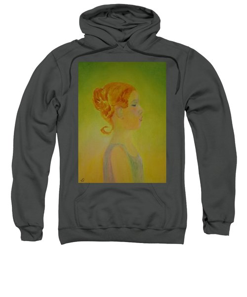 The Girl With The Curl Sweatshirt
