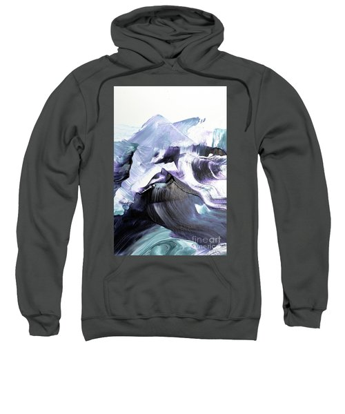 Glacier Mountains Sweatshirt
