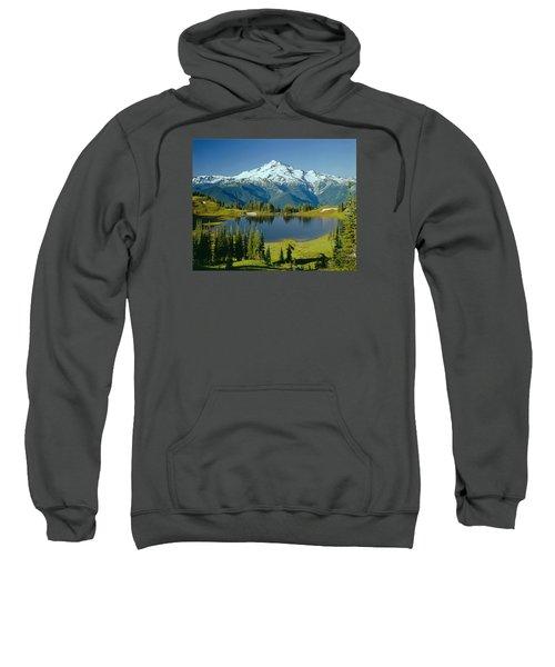 1m4422-glacier Peak, Wa  Sweatshirt
