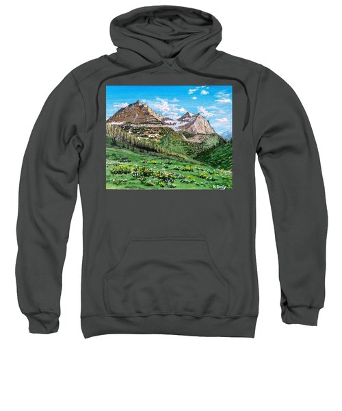 Glacier Summer Sweatshirt