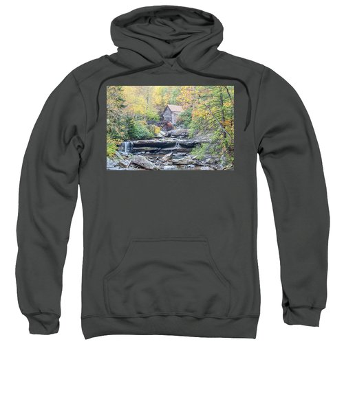 Glade Creek Grist Mill In Autumn Sweatshirt