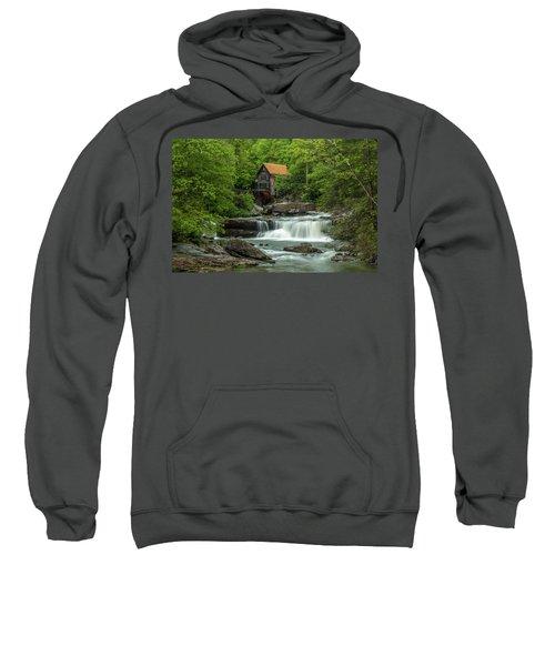 Glade Creek Grist Mill In May Sweatshirt