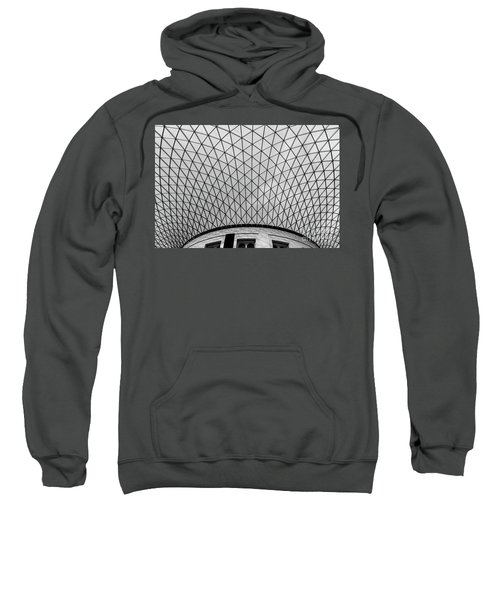 Sweatshirt featuring the photograph Glass Ceiling by MGL Meiklejohn Graphics Licensing