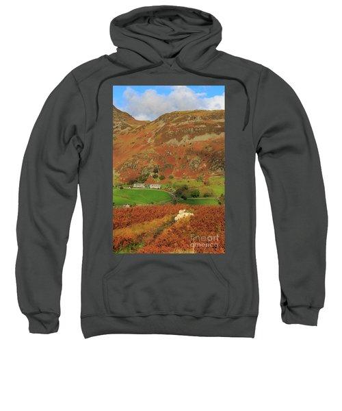 Glenridding And The Rake From Above Glenridding Beck Sweatshirt