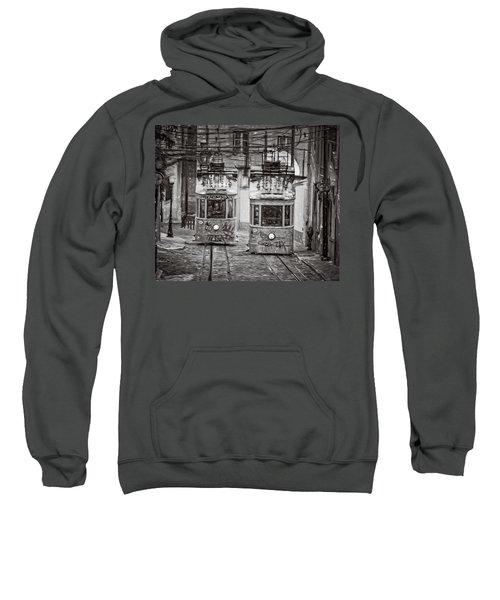 Gloria Funicular Lisbon Bw Sweatshirt