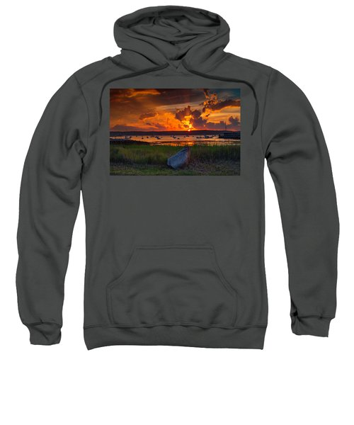 Gloucester Harbor Sunset Sweatshirt