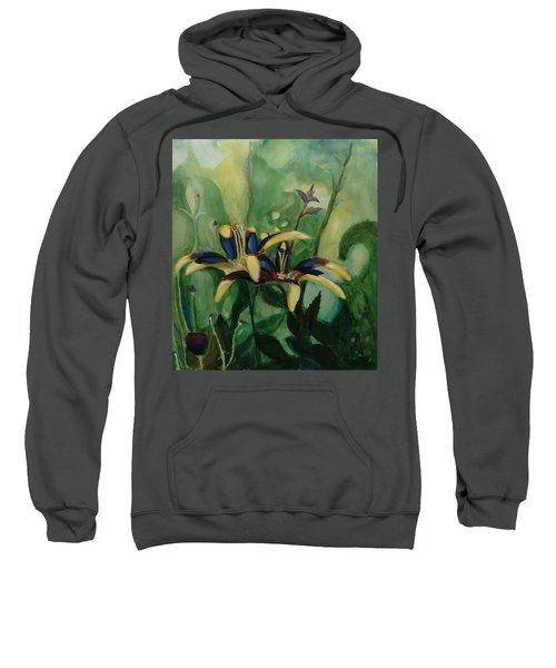 Glowing Flora Sweatshirt