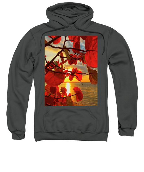 Glowing Red Sweatshirt