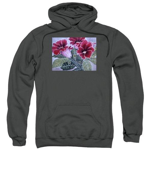 Gloxinias Sweatshirt