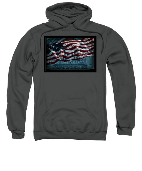 God Country Notre Dame American Flag Sweatshirt
