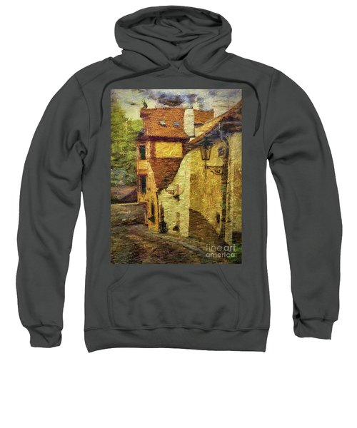 Going Downhill And Round The Bend Sweatshirt