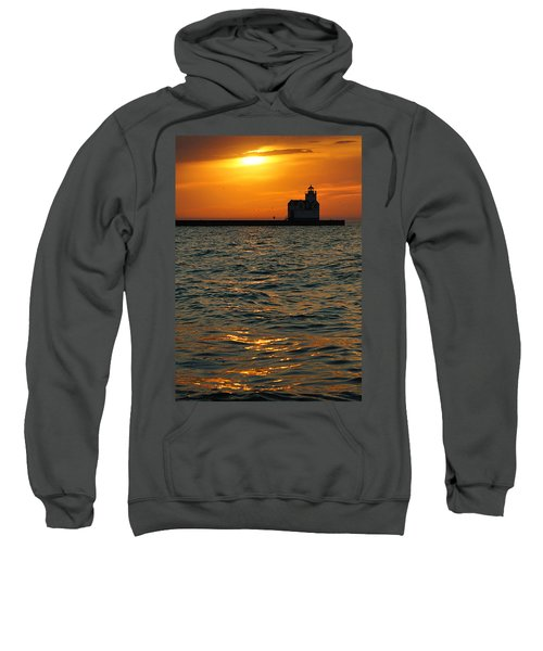 Gold On The Water Sweatshirt by Bill Pevlor