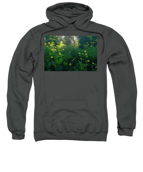 Golden Blooms Sweatshirt