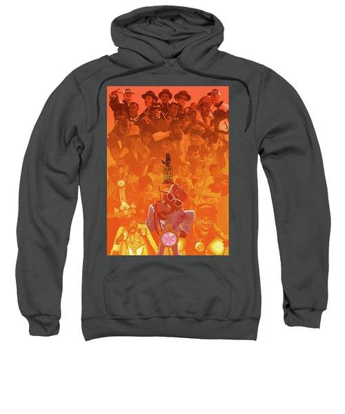 Golden Era Icons Collage 1 Sweatshirt