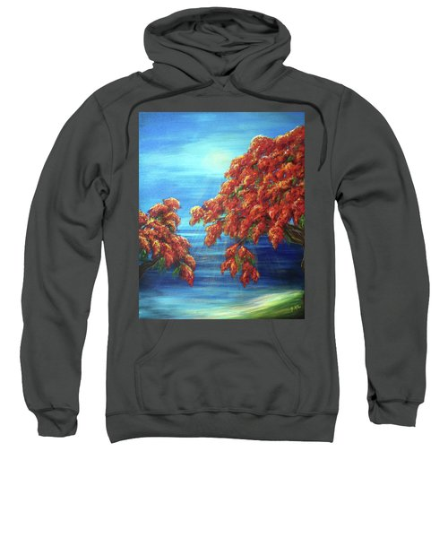 Golden Flame Tree Sweatshirt