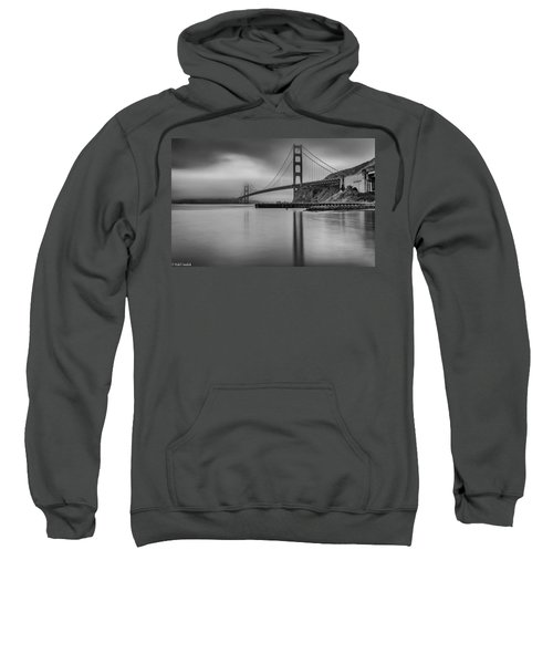 Golden Gate Black And White Sweatshirt