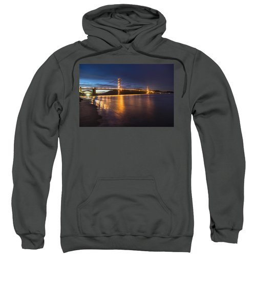 Golden Gate Blue Hour Sweatshirt