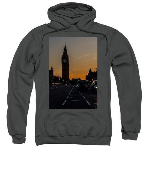 Golden Hour Big Ben In London Sweatshirt