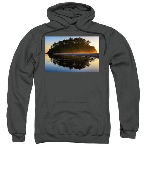 Golden Hour Haze At Proposal Rock Sweatshirt