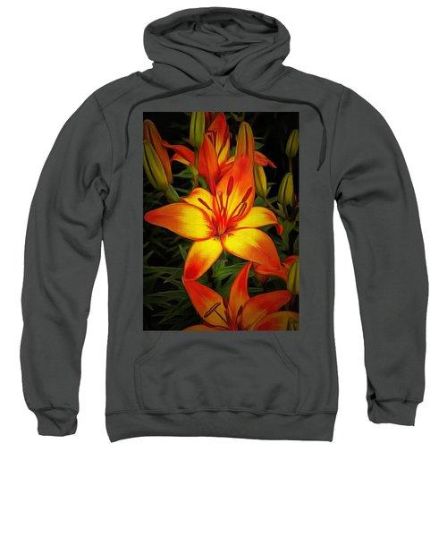 Golden Lilies Sweatshirt