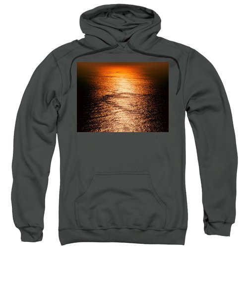 Golden Sea In Alanya Sweatshirt