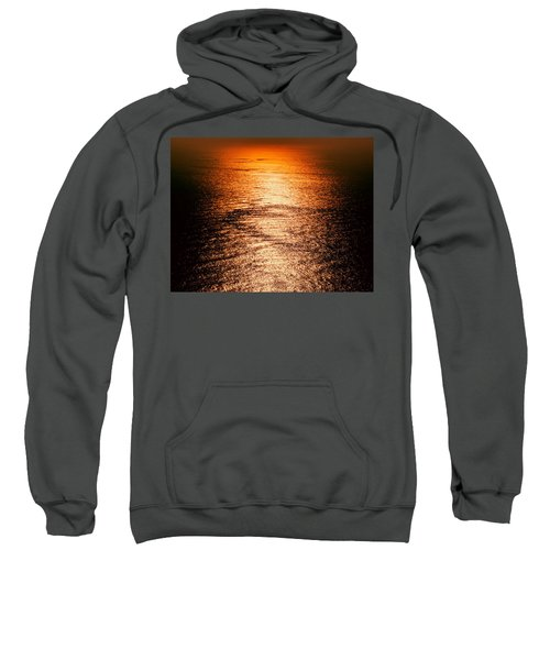 Golden Sea In Alanya Sweatshirt