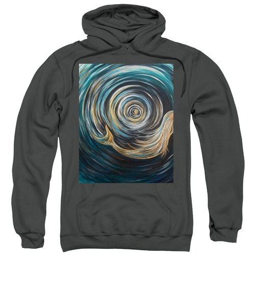 Golden Sirena Mermaid Spiral Sweatshirt