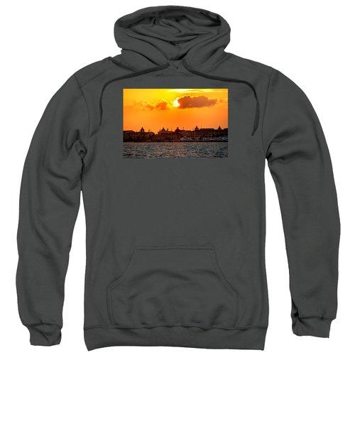 Golden Sky In Cancun Sweatshirt