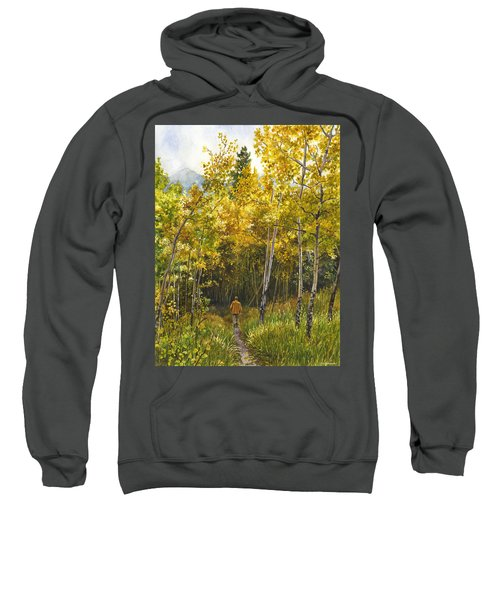 Golden Solitude Sweatshirt