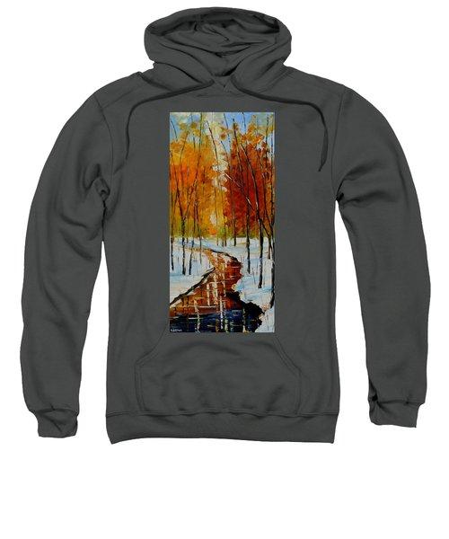 Golden Winter Sweatshirt