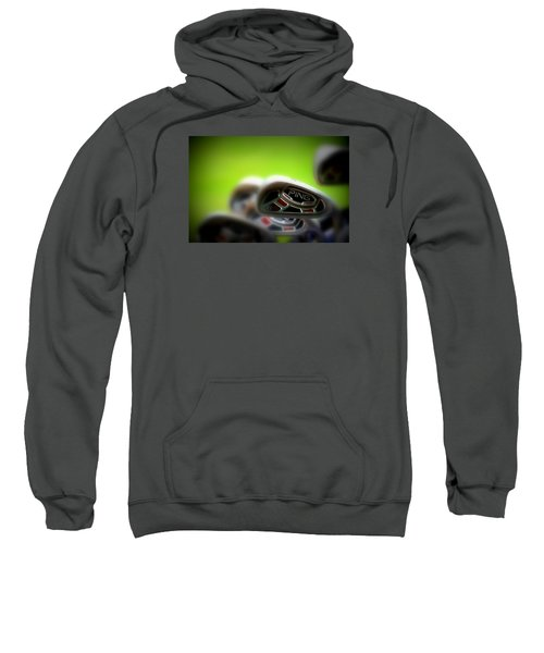 Golf Clubs 2 Sweatshirt