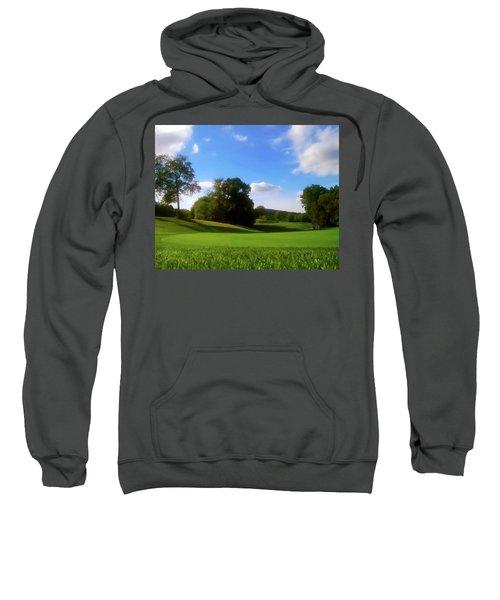 Golf Course Landscape Sweatshirt