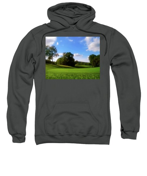 Golf Course Landscape Sweatshirt
