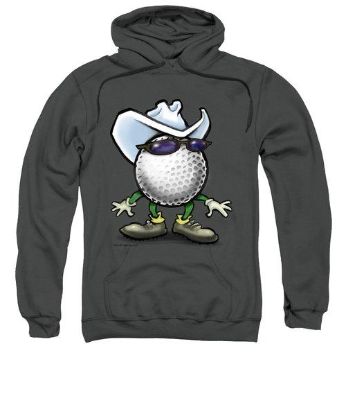 Golf Cowboy Sweatshirt by Kevin Middleton
