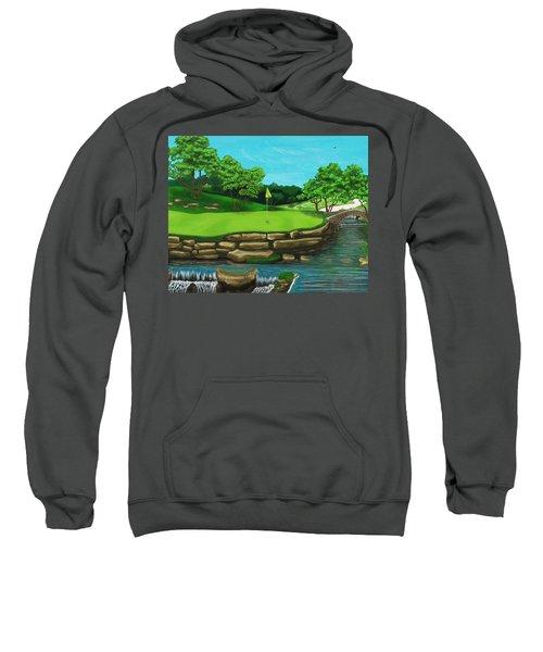 Golf Green Hole 16 Sweatshirt
