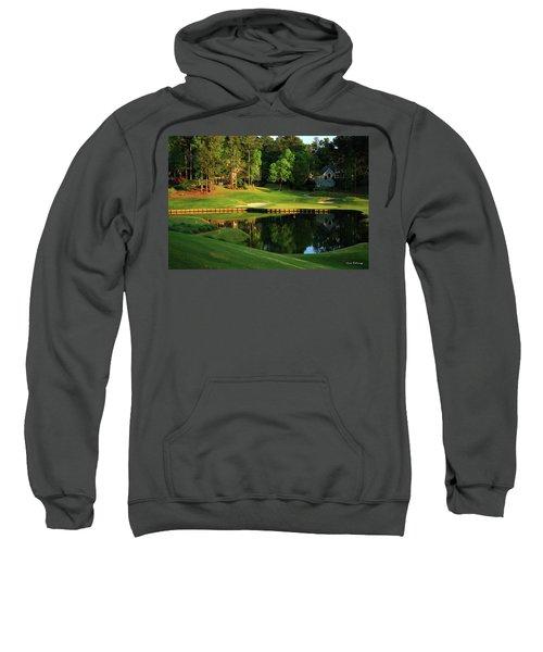 Golf The Landing #3 Reynolds Plantation Lake Oconee Ga Art Sweatshirt