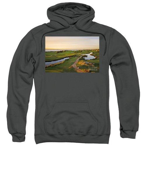 Golfing At The Gong II Sweatshirt