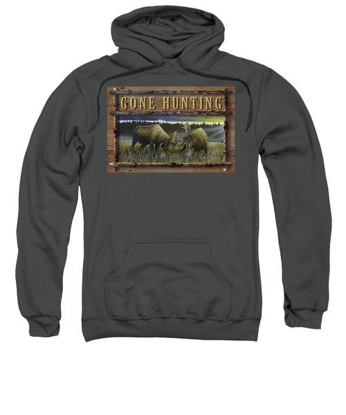 Gone Hunting - Locked At Lac Seul Sweatshirt