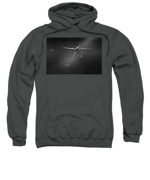 Goner From Dambuster J-johnny Bw Version Sweatshirt by Gary Eason